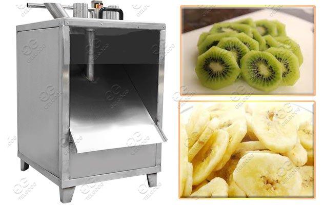 Automatic Fruit Banana Chips Slicing Machine Hot Sale
