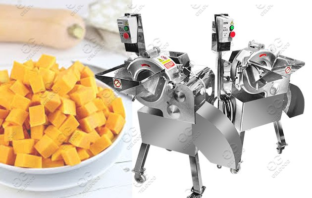 Multi-function Fruit Vegetable Cube Cutting Machine