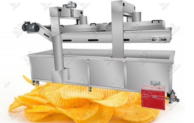Industrial Potato Chips Frying Equipm