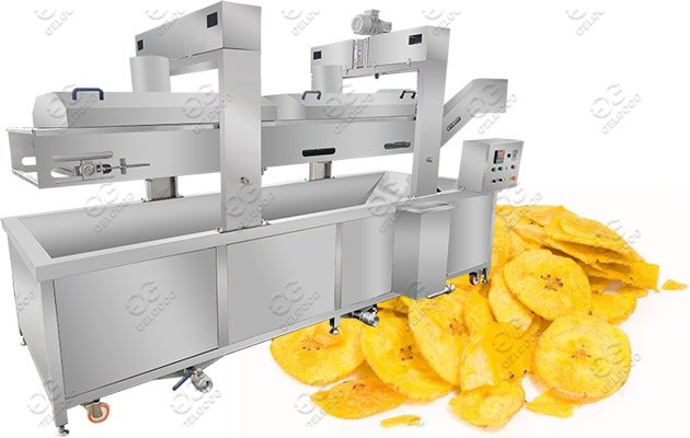 Commercial Banana Chips Frying Machin