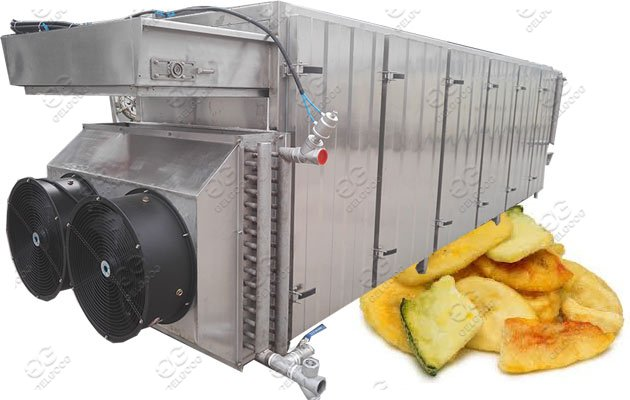 Tunnel Type Fruit Vegetable Drying Oven Machine