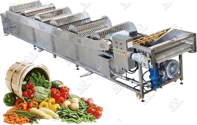 9M Bubble Type Fruit Vegetable Washing Machine