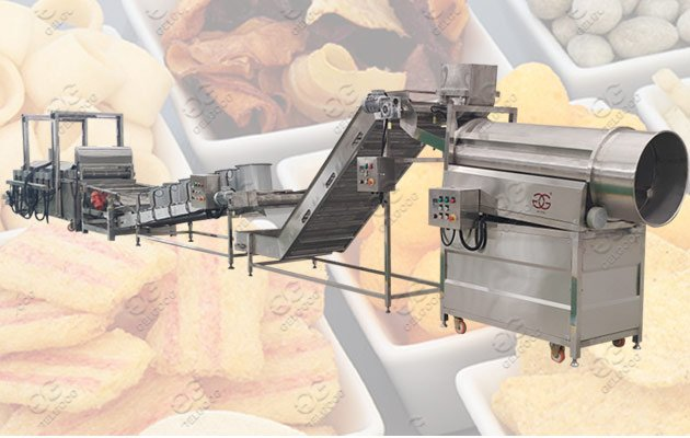 snack food frying machine