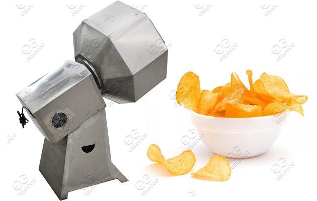 Puffed Food Flavoring Machine|Snack Chips Seasoning Machine