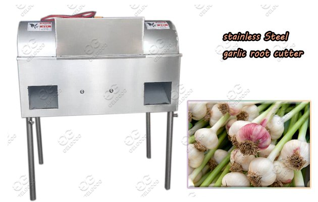 High Efficiency Garlic Root Cutting Machine Hot Sale