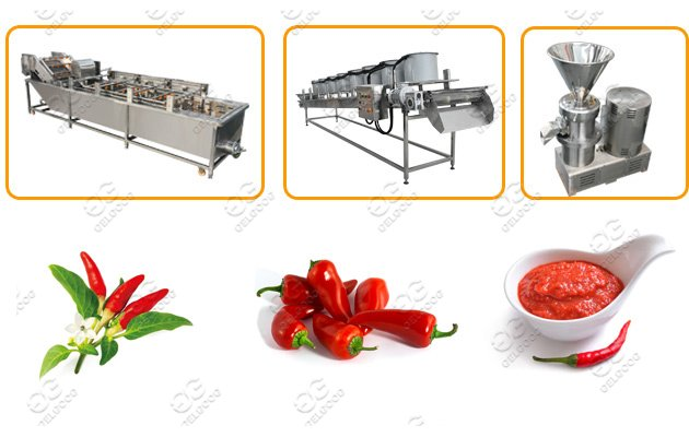 Gelgoog Chili Sauce Production Line Hot Sale