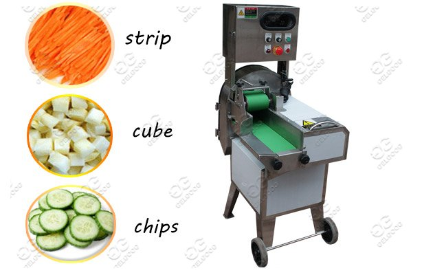 Full Automatic Vegetable Cutting Mach
