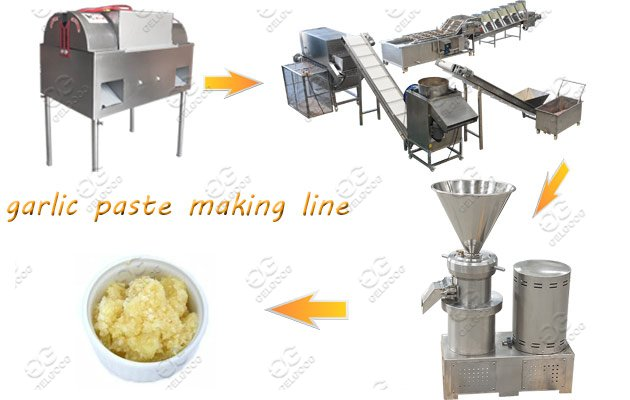 Industrial Use Garlic Paste Making Machine Line