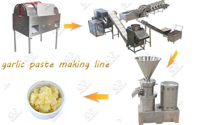 Industrial Use Garlic Paste Making Machine Line