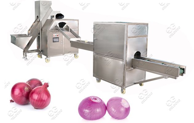 Commercial Use Onion Peeling And Root Cutting Machine Price