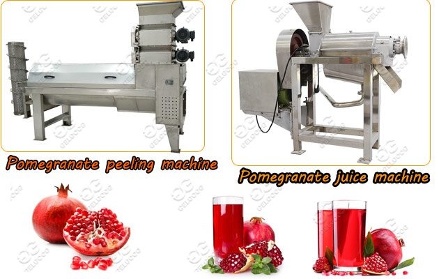 pomegranate juice making machine line