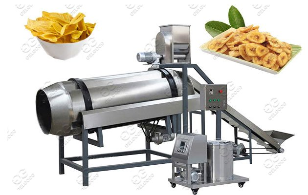 Drum-Type Banana Chips Flavoring Machine Price