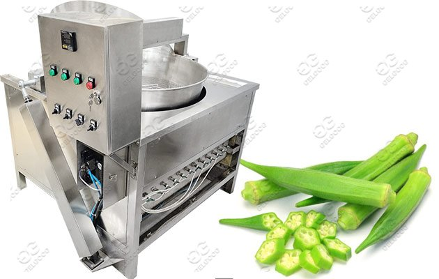 Industrial Okra Frying Machine Hot Sa