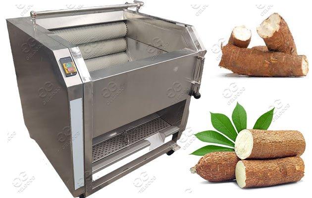 GGXM800 Automatic Cassava Washing Peeling Machine Price