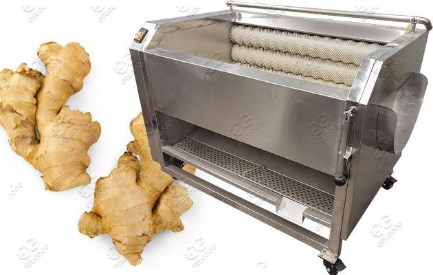 High Quality Ginger Washing Peeling Machine