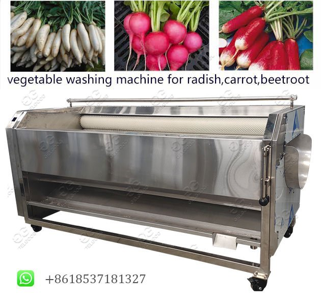 root vegetable washing peeling machine