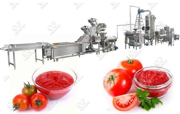 200kg/h Tomato Paste Making Machine Process Solution