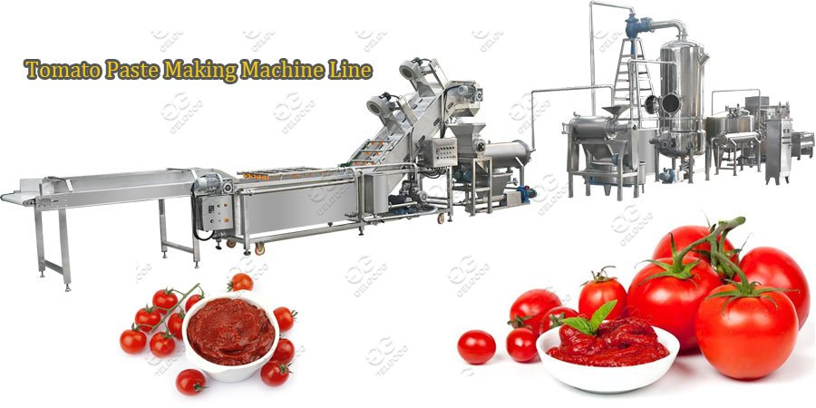 tomato paste making machine line