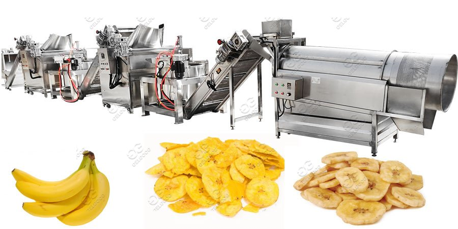 plantain chips line