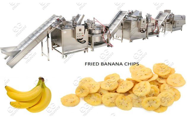 Automatic Banana Chips Making Machine Line Solution