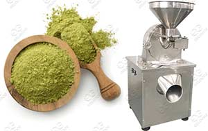 moringa leaves powder grinding machine