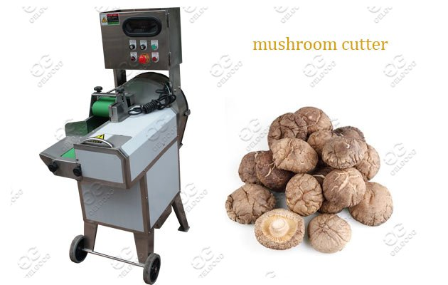 Large Output Mushroom Cutting Machine