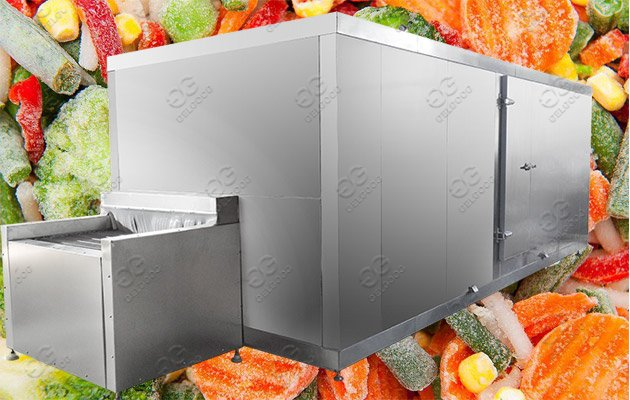 fruit vegetable freezing machine