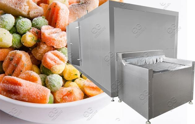 vegetable freezing machine