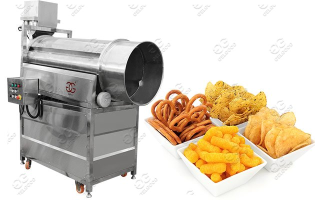 chips seasoning machine