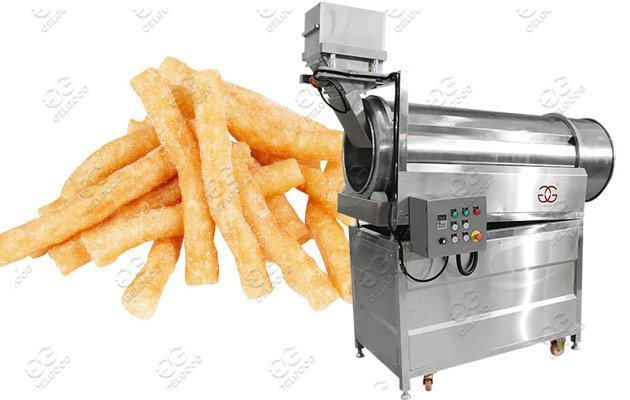 fries seasoning machine