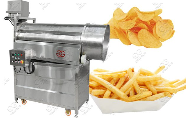 snack flavoring machine