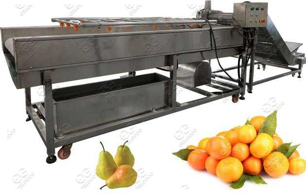 commercial pear washing machine