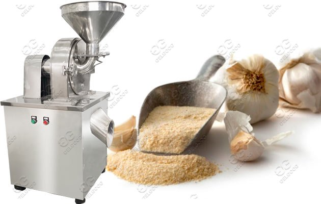garlic powder grinding machine