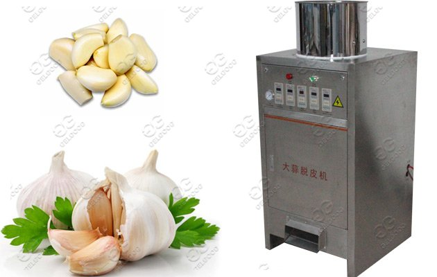 small scale garlic peeler machine