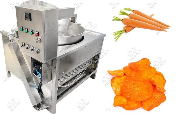 commercial carrots chips fryer