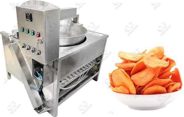automatic carrots chips fryer