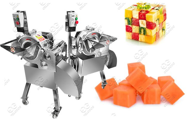 vegetable cube cutting machine price