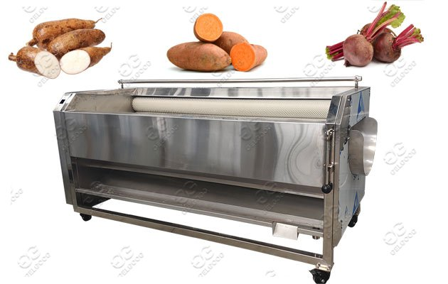beetroot washing peeling machine