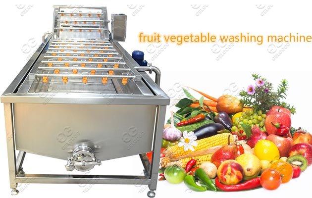 Industrial Use Fruit Vegetable Washing Machine Price
