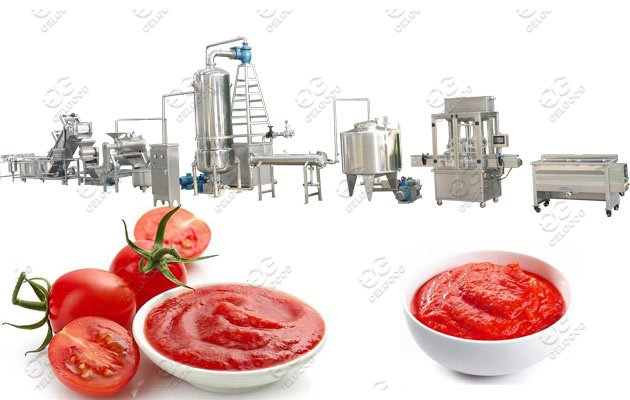 Industrial Tomato Paste Making Machine Plant