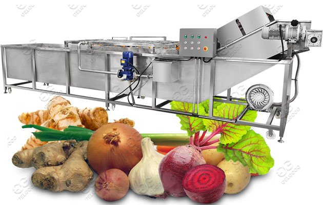Application Of The Root Vegetable Washing Machine