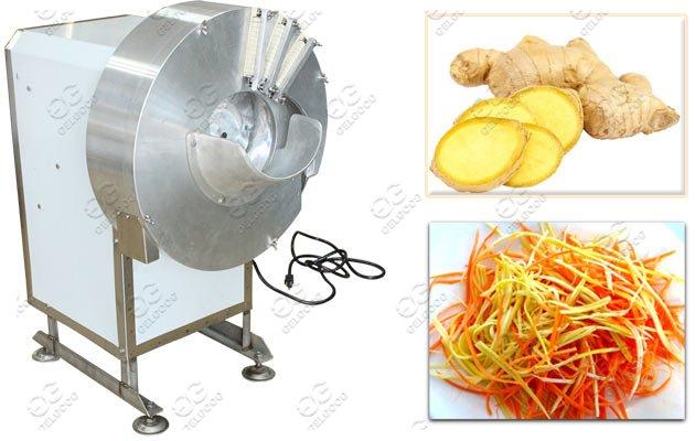 GG-503 Ginger Slicer Carrot Strip Cutting Machine