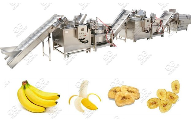 Commercial Use Banana Chips Making Machine Line