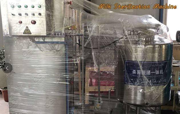 Delivery Picture of Panama Milk Sterilization Machine