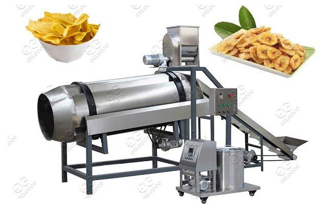 Drum-Type Banana Chips Flavoring Machine Price