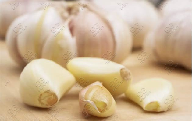 What Is The Cost Of The Small Scale Garlic Peeling Machine Line ?