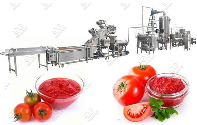 200kg/h Tomato Paste Making Machine P