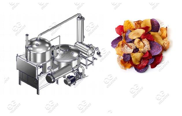 Hot Sale Fruit Vegetable Vacuum Frying Machine