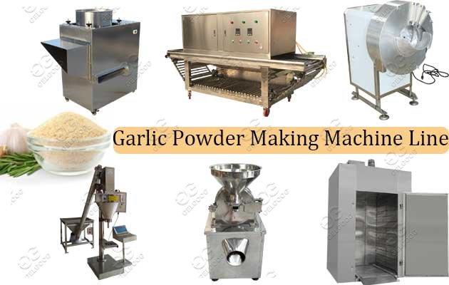 Factory Use Garlic Powder Production
