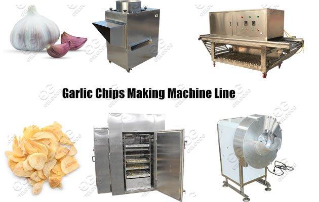 Gelgoog Dehydrated Garlic Chips Makin